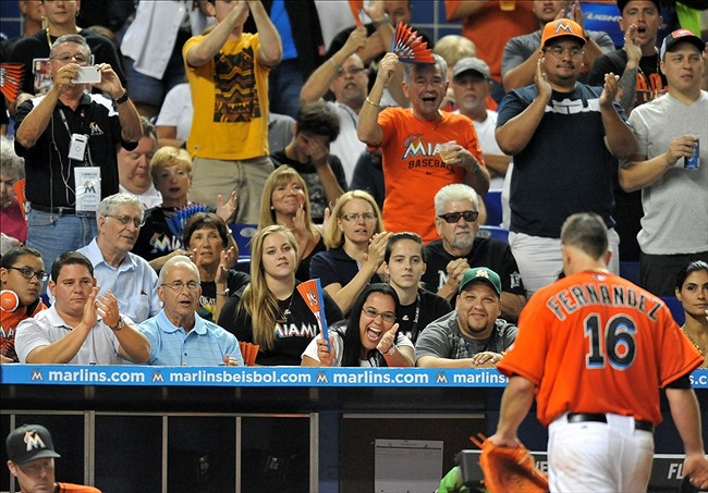 Miami marlins fans